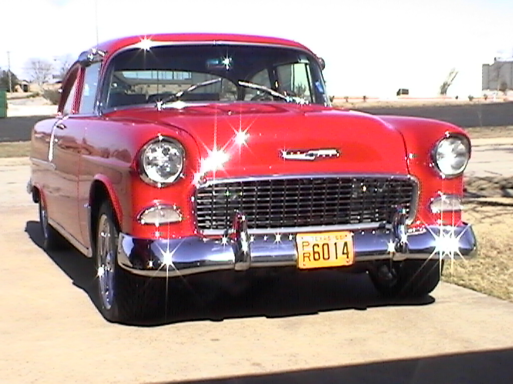 55 Chevy 2Dr Post For Sale