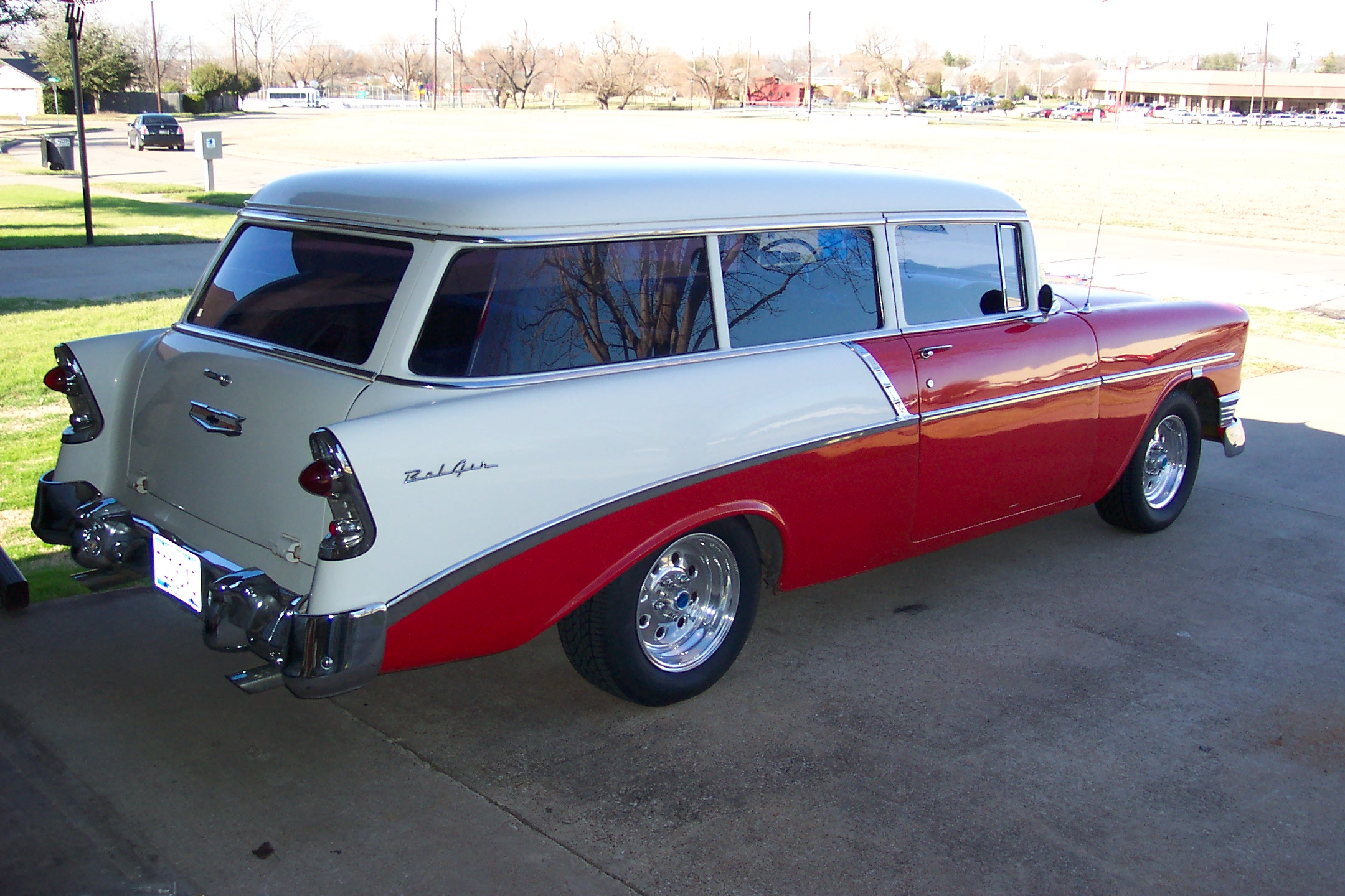 56 Chevy 2Dr BelAir Wagon For